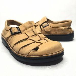 Footprints Birkenstocks Fisherman Sandals Honey